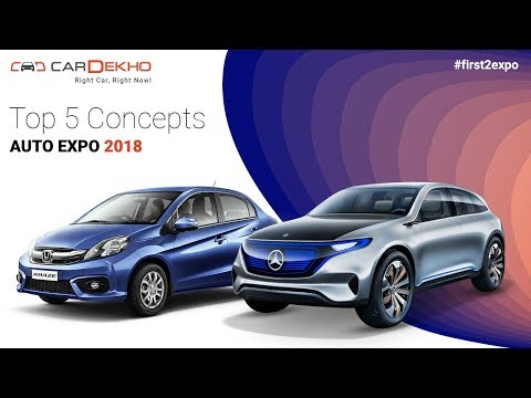 Top 5 Concepts @ Auto Expo 2018