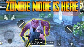 PUBG Mobile ZOMBIE Mode Gameplay !!! FIRST LOOK - NEW EVENT GUN - PUBG Mobile 0.11 BETA !!!