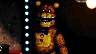 FREDBEAR IS WATCHING ME LATE AT NIGHT.. SCARIEST NIGHT. | FNAF A Golden Past