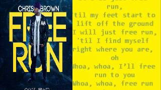 chris brown free run lyrics