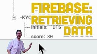 9.3: Firebase: Retrieving Data - Programming with Text