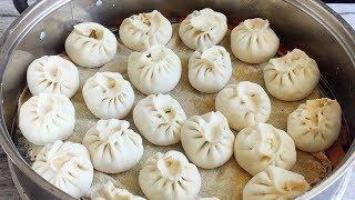 猪肉大葱包子,北京卖60元一斤,买8根大葱自己做,一次吃半笼