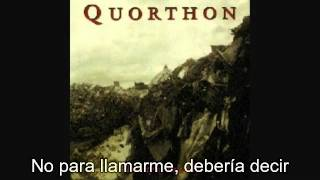 Quorthon - An Inch Above the Ground  (Subtitulado al español)
