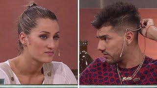 El tenso cruce entre Mica Viciconte y Tyago Griffo antes de bailar Salsa