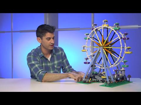 LEGO Creator - 10247 Ferris Wheel Designer Video