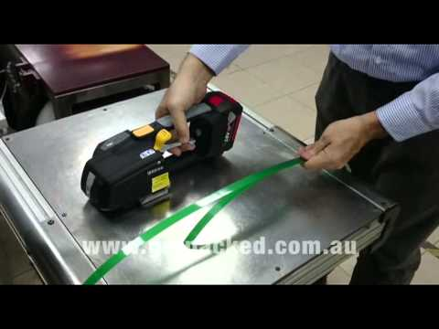 Zapak ZP93 Battery Powered Plastic Strapping Tool