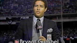 1980 World Series Game 1 prelude   Bryant Gumbel, NBC