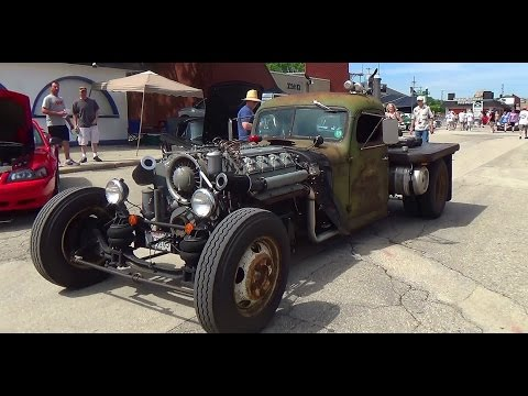 2015 Car Craft Summer Nationals Cruising Through