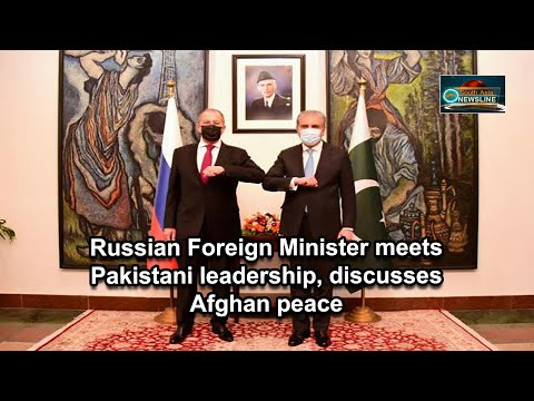 Russian Foreign Minister meets Pakistani leadership, discusses Afghan peace