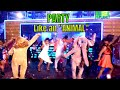 """Come party like an ANIMAL"" - Animal Planet India 