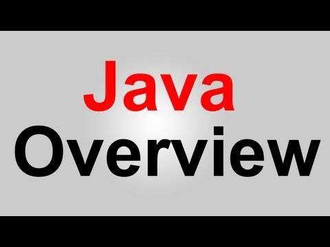 Java Tutorial: Overview of Java