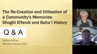 "Baha'i Web Talks #05 | Shoghi Effendi and Baha'i History- ""The Dawn Breakers"" 