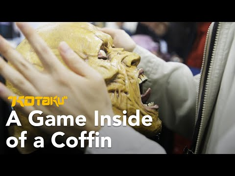 We Played A Mystery Game While Trapped In A Coffin