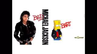 Michael Jackson   Bad Mixed With Do The Bartman   The Simpsons