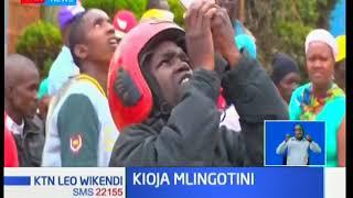 Mkaazi wa Embu akwea mlingoti akiwa uchi
