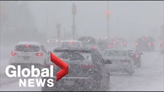 15 to 25 cm expected as Toronto slammed by winter storm