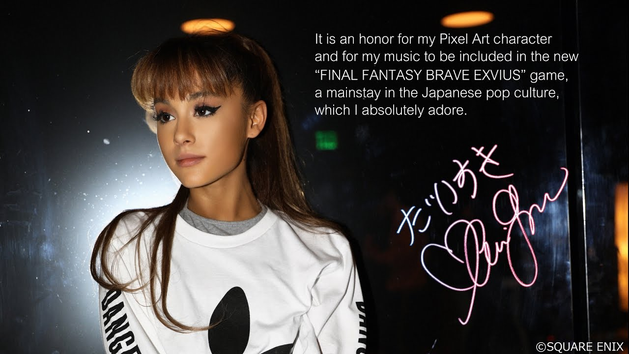 Final Fantasy: Brave Exvius - Ariana Grande - Touch It