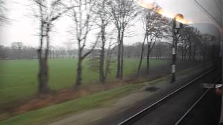 preview picture of video 'IC 145 Almelo to Bad Bentheim (includes NS-DB loco exchange)'