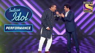 Udit Narayan और Abhijeet Bhattacharya ने की Swag से Entry Indian Idol पे   Indian Idol Season 12