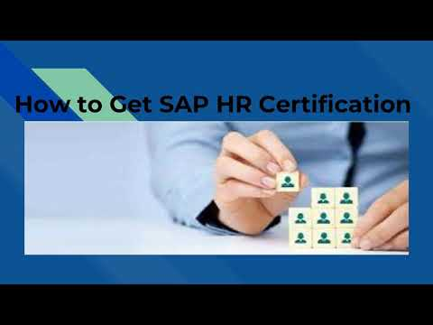 How to Get SAP HR Certification - YouTube