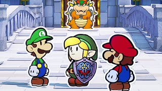 Link (Zelda) In Paper Mario: The Origami King