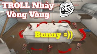 Troll Bunny Nhẩy Vòng Vòng Map Nhà Bếp - Rùa Ngáo