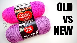 What Has Happened to Red Heart Super Saver Yarn? | Yay For Yarn