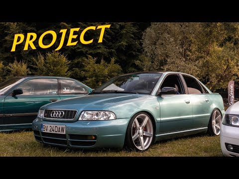 Audi A4 B5 Static on Vossen Rims Tuning Project by Florin