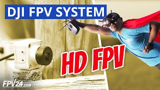 DJI Digital FPV System REVIEW – Einrichtung, Test und Unboxing (HD FPV)