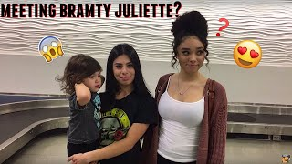 Not what I expected meeting Bramty Juliette...