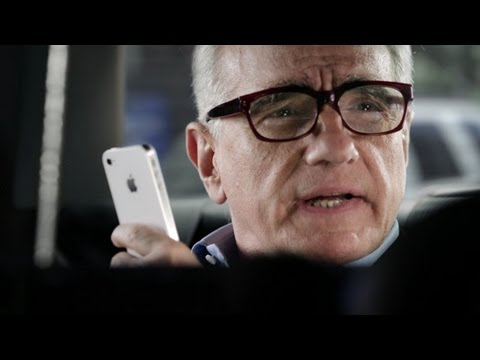 """Martin Scorsese Likes Siri In New Apple Ad, Thinks She's """"Going Places"""""""