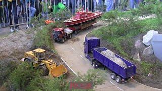 RC SCALE MODEL TRUCKS TRUCK PARCOUR AMAZING GREAT !!! /Faszination Modellbau 2014