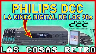Philips DCC | La Cinta Digital 🔴 FORMATOS FRACASADOS