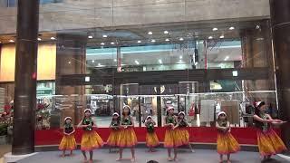 ALOHA ANGEL*(ハワイのわらぶき小屋の歌)~松山三越クリスマスハワイアンフラショー2018