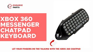 XBOX 360 Messenger Chatpad Keyboard - Fully Compatible with XBOX