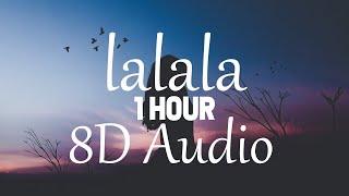 (1 HOUR) Bbno$ & Y2k   Lalala (8D AUDIO)
