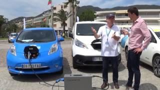 Chargeur mobile Combo CHAdeMO pour voitures électriques