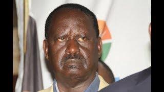 Raila Odinga explains his reasons for flying to the UK