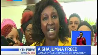 Malindi MP Aisha Jumwa released on sh500,000 cash bail