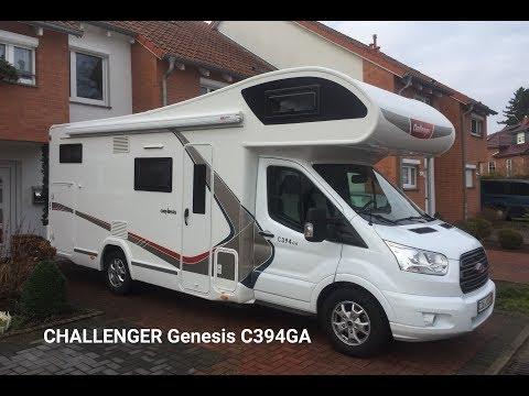 Автодом на 6 человек для российских дорог. Challenger Genesis C 394 GA. Подробный обзор