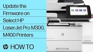 Hp Laserjet Pro Update The Printer Firmware Hp Customer Support