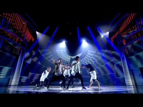 Britain's Got Talent 2015 S09E14 Semi-Finals Boyband Dance Group