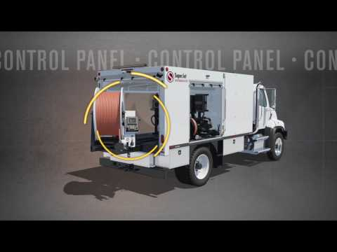 SuperJet Truck Mounted Jetter Video