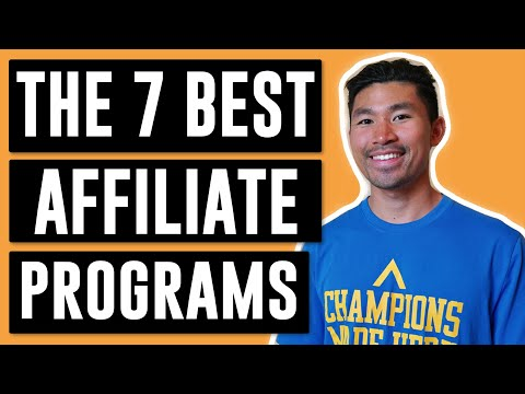 The 7 BEST Affiliate Marketing Programs for Beginners (2019)