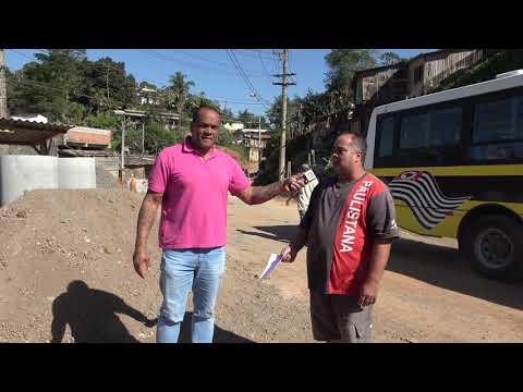 Marquinhos do táxi agradece o ex Deputado Geraldo Cruz e o Prefeito Ayres Scorsatto pelo asfalto na Rua Guilhermina na favela dos Brancos e Fala sobre ser Pré Candidato a vereador 2020