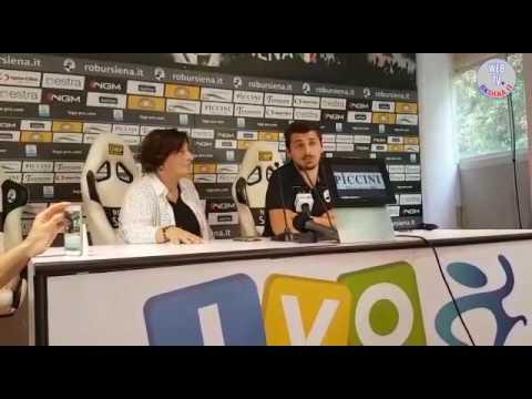 Robur Siena: conferenza stampa Durio e Trani