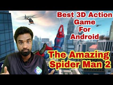 Best action adventure 3D Game for Android | Spider Man 2 full Concept in Tamil
