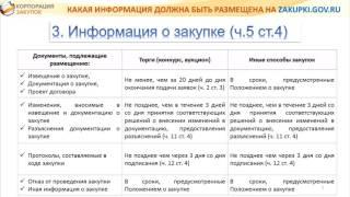Размещение закупок по 223-ФЗ в ЕИС Часть 1