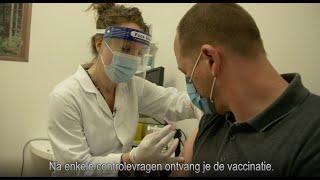 Coronavaccinatie: van uitnodiging tot registratie