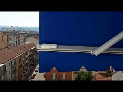 Proteggi la tua tenda da sole con Eolis 3D Wirefree
